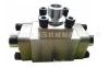 供应ISO6164方法兰FV高压三通 SAE法兰