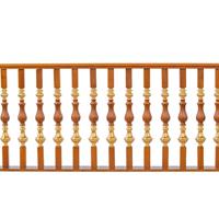 铜木结合楼梯