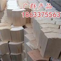 防腐管道木块红红木保冷块杭州专供