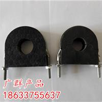 朝阳水管木托规格//橡塑管托用途
