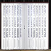 安装PVC折叠门专用于车间商场办公楼客厅