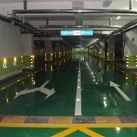 重庆停车场划线工程、车库划线工程施工