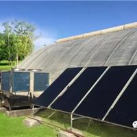 供应温室大棚采暖新技术白果太空能地暖采暖
