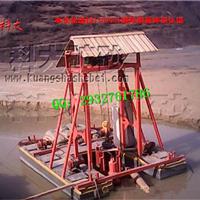 供应新型吊泵式抽沙船,大型采沙设备报价