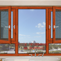 防尘挡虫 供应65断桥纱网一体平开窗