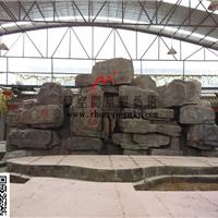 供应塑石假山驳岸重庆假山瀑布施工
