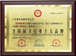 中国厨卫行业十大品牌
