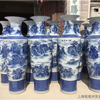 上海落地大花瓶,上海酒店装饰大花瓶定制