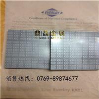 供应美国肯纳CD50硬质合金钨钢板块