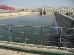 供应污水处理厂污水池堵漏