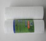 开润环保10寸沟槽过滤PP棉滤芯 净水滤芯