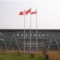 供应甘肃兰州高等学院安装电动旗杆工程案例
