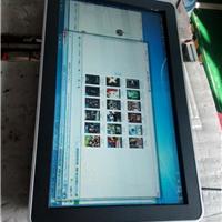 深圳厂家直销65寸挂式苹果款触摸查询一体机