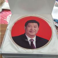 人物肖像陶瓷纪念盘 上海订做 陶瓷盘子