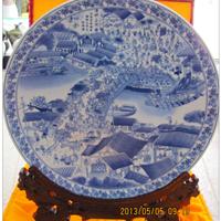 陶瓷盘子上海定做厂家 景德镇纪念盘定制