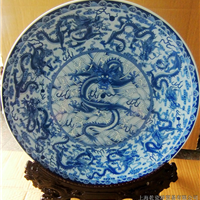 上海定做青花瓷纪念盘 青花陶瓷纪念盘加工