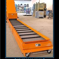 排屑链输送机,链板排屑机,金属铁屑输送