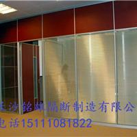 长沙定制玻璃隔断墙,株洲办公隔断带百叶