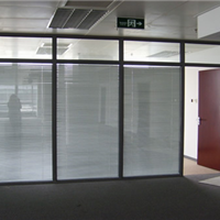 专业制造生产厂家长沙玻璃隔墙,成品隔断墙