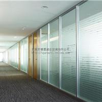 供应东莞清溪办公室玻璃墙隔断制作安装