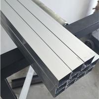 供应6063氧化铝方管 橱窗专用铝方管