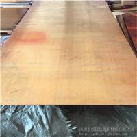 供应H65黄铜薄板 抛光镜面黄铜板 T2紫铜板