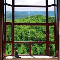 阁韵86铝包木窗 别墅用窗首选