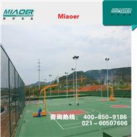 上海篮球场工程,铺设