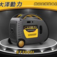 房车专用3kw数码变频发电机