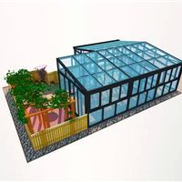 河源阳台阳光房设计由康盈门窗专业为您服务