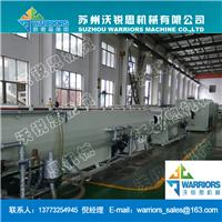 供应高效节能160-450PE管材生产线设备