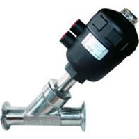 供应快装式气动角座阀,不锈钢角阀
