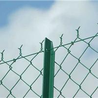 浙江菱形防护钢丝网采用镀锌浸塑等处理方式