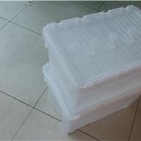供应上海医药行业斜插式周转箱带盖500