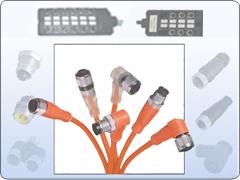 4针M12传感器接近开关连接线现货供应