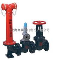 SQS100 SQS150地上式水泵接合器 喷淋接合器