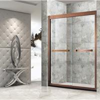 供应304不锈钢卫生间玻璃隔断门淋浴房