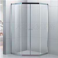 供应304不锈钢卫生间玻璃隔断门干湿分区