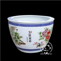 供应陶瓷鱼缸金鱼缸睡莲碗莲缸