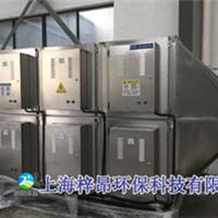 浙江富阳台州纸厂塑料造粒废气处理设备