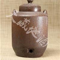 供应藏久牌线纹陶瓷酒坛