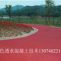 供应彩色透水路面胶结料配方技术