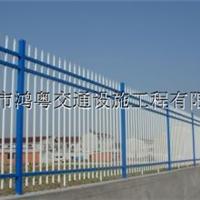 供应鸿粤锌钢护栏厂家 厂区隔离锌钢护栏