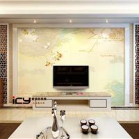 爱瓷艺供应各类彩雕背景墙及罗马柱石线配套