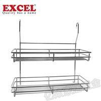 新加坡EXCEL五金供应双层挂架厨卫置物架