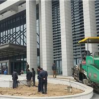 陕西西安小区厂区学校操场沥青路面施工