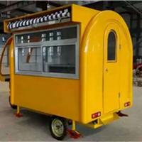 河北厂家直销供应玻璃钢餐车 早餐车