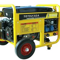 供应 合资230A汽油发电焊机油耗