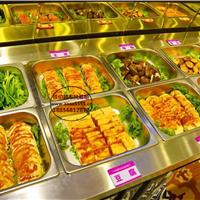 怀化不锈钢小菜冰箱 佳伯自助餐冷藏展示柜