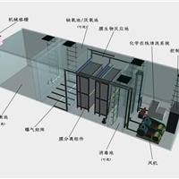 供应三菱污水处理设备采用平板MBR膜组件